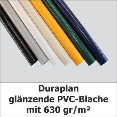 Duraplan Rollenware glänzende PVC-Blache
