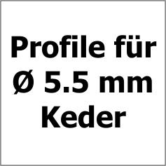 5.5 mm Keder