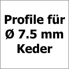 7.5 mm Keder