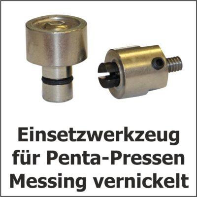 Einsetzwerkzeug für Penta Pressen