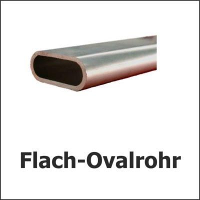 Flach-Ovalrohre
