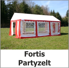 Fortis Partyzelt