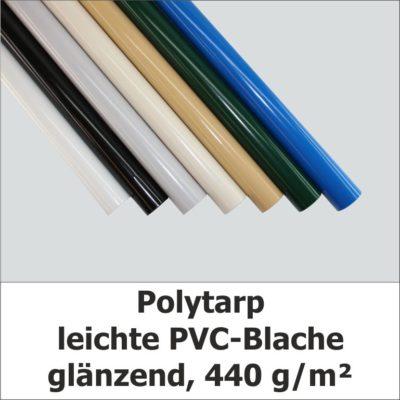 Polytarp - Rollenware Leichte PVC-Blache, glänzend