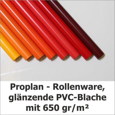 Proplan Rollenware glänzende PVC-Blache
