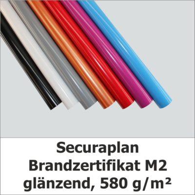 Securaplan - Blache mit Brandzertifikat M2