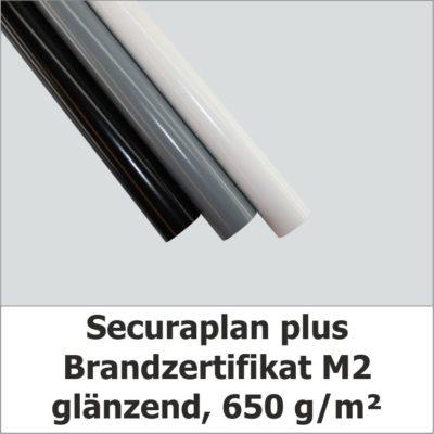 Securaplan plus - Blache mit Brandzertifikat M2