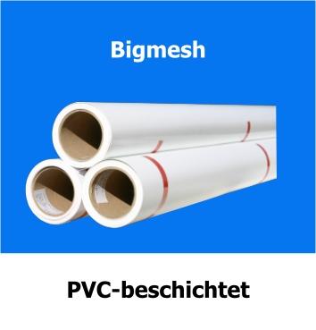 Bigmesh, bedruckbar mit Solvent, Eco-Solvent, Latex und UV-Tinte