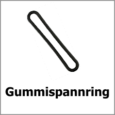 Gummispannring