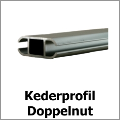 Kederprofile Doppelnut
