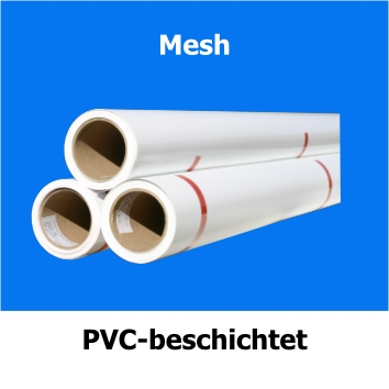Mesh, bedruckbar mit Solvent, Eco-Solvent, Latex und UV-Tinte